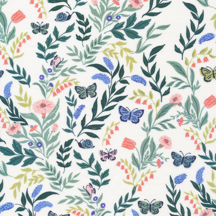Flora Organic Cotton from Perennial by Cassidy Demkov- FAT QUARTER - The Village Haberdashery