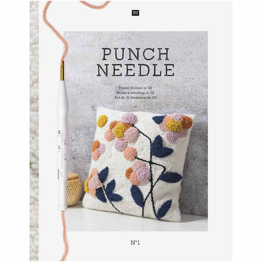Punch Needle: Modern Stitching in 3D by Rico - The Village Haberdashery