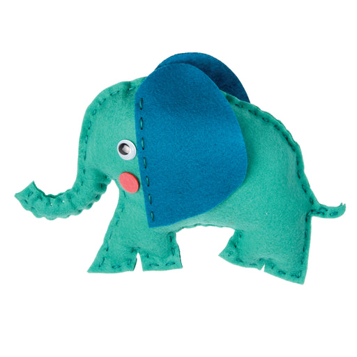 Sew Your Own Felt Elvis the Elephant by Rex London - The Village Haberdashery