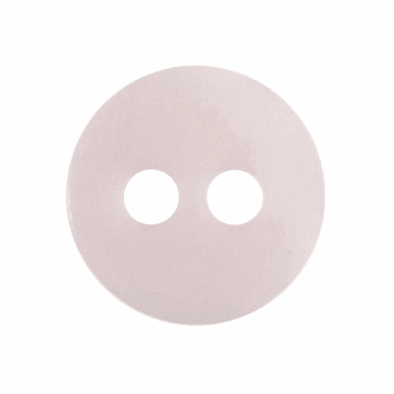 Tiny Pearl Pink Buttons - 8mm - The Village Haberdashery