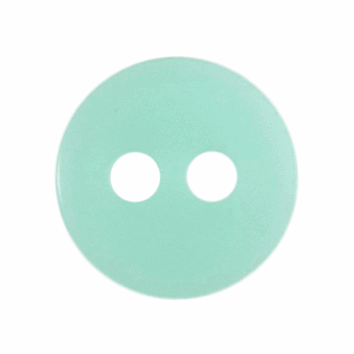 Tiny Peppermint Green Buttons - 8mm - The Village Haberdashery