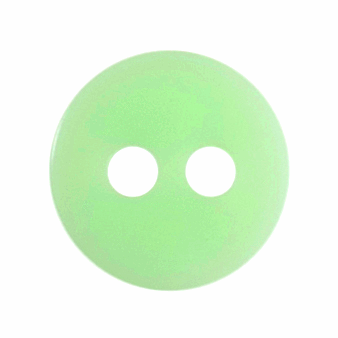Tiny Lime Green Buttons - 8mm - The Village Haberdashery