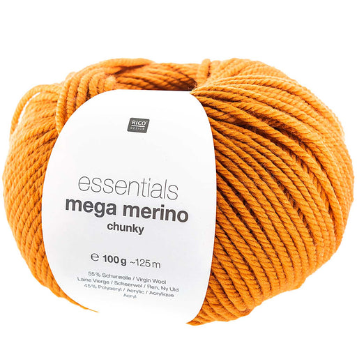 Rico Mega Merino - Orange - The Village Haberdashery