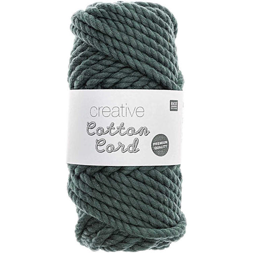 Rico Cotton Macrame Rope - Teal - 005 - The Village Haberdashery