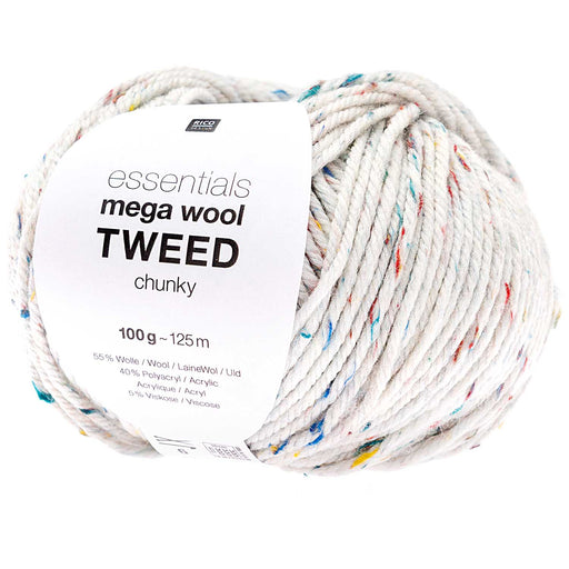 Rico Mega Wool Tweed - Natural - The Village Haberdashery