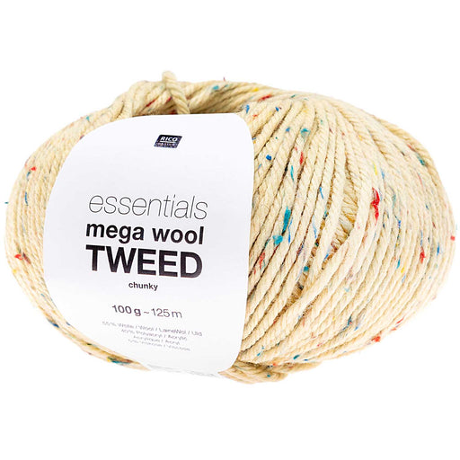 Rico Mega Wool Tweed - Yellow - The Village Haberdashery