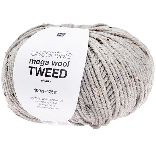 Rico Mega Wool Tweed - Grey - The Village Haberdashery