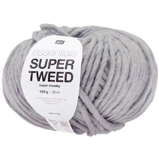Rico Essentials Super Tweed Super Chunky - Lilac - 003 - The Village Haberdashery