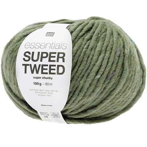 Rico Essentials Super Tweed Super Chunky - Ivy - 004 - The Village Haberdashery