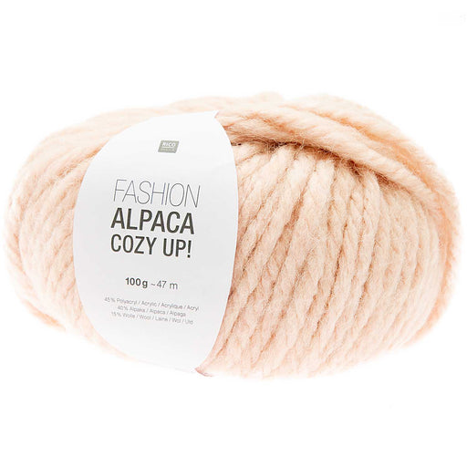 Rico Fashion Alpaca Cozy Up - Peach - 002 - The Village Haberdashery