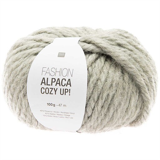 Rico Fashion Alpaca Cozy Up - Grey - 005 - The Village Haberdashery