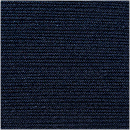 Rico Essentials Merino DK - Dark Navy Blue - 36 - The Village Haberdashery