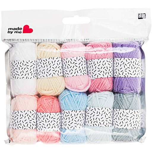 Pastel Colours Mini Yarn Set - The Village Haberdashery