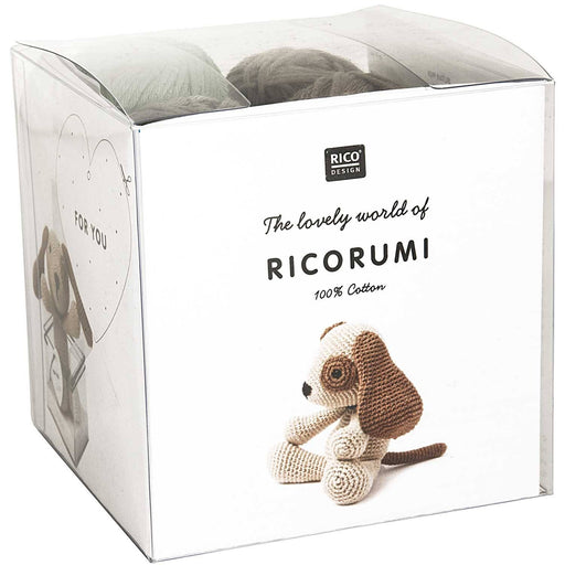 Ricorumi Puppies - Dog Crochet Kit - The Village Haberdashery