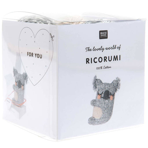 Ricorumi Puppies - Koala Crochet Kit - The Village Haberdashery