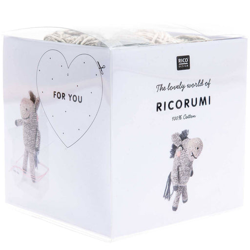 Ricorumi Puppies - Donkey Crochet Kit - The Village Haberdashery