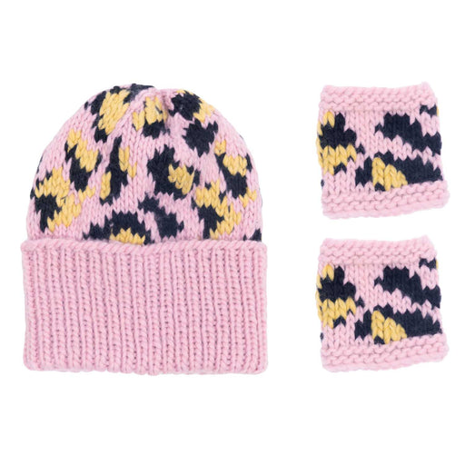 Pink Leo Hat Knit Kit - The Village Haberdashery