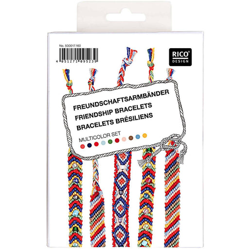 Multicolour Friendship Bracelet Kit - The Village Haberdashery