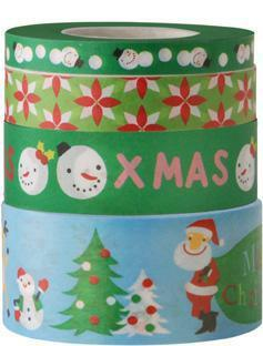 Crafts - Washi Tape Set - Fun Christmas