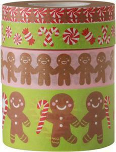 Crafts - Washi Tape Set - Christmas Sweets