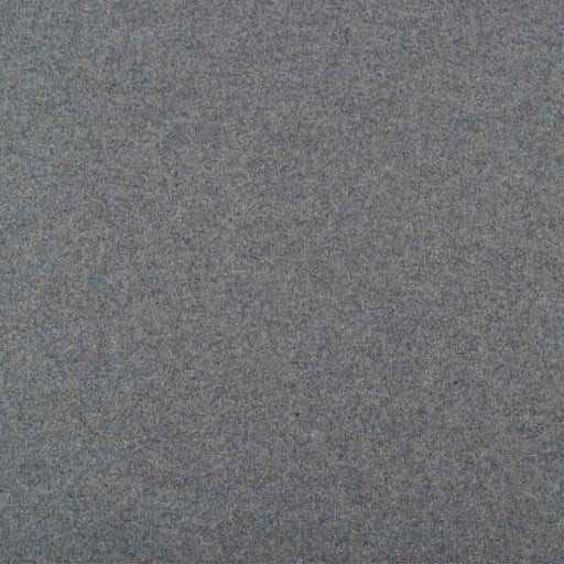 Grey Wool Blend Melton Coating - The Village Haberdashery