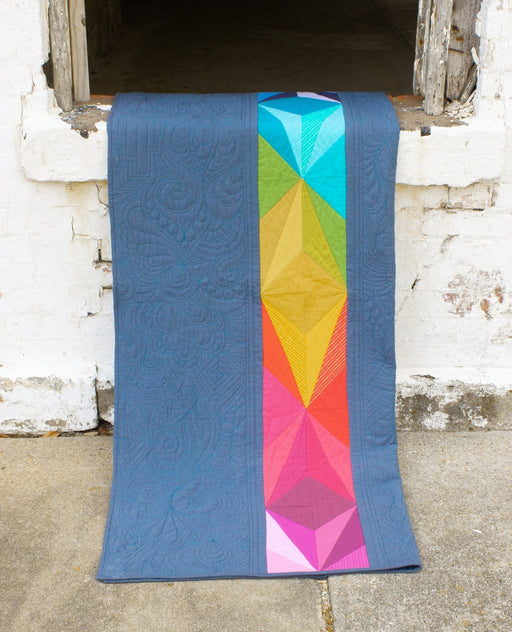 Alison Glass Design - Aura Quilt Pattern - The Village Haberdashery