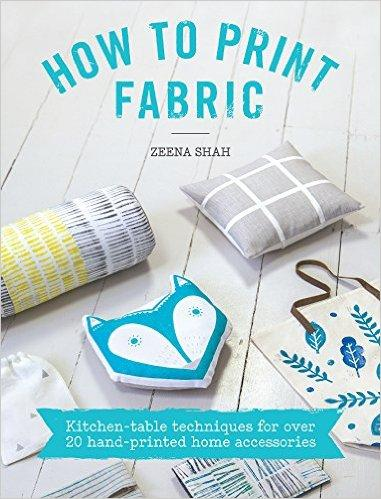 How to Print Fabric by Zeena Shah - The Village Haberdashery