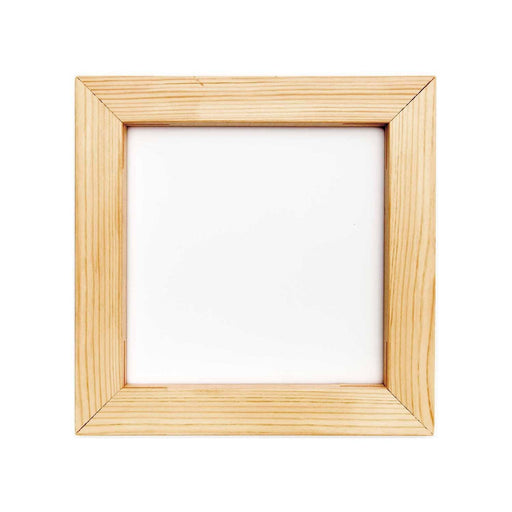 Square Wooden Embroidery Frame - 20cm - The Village Haberdashery