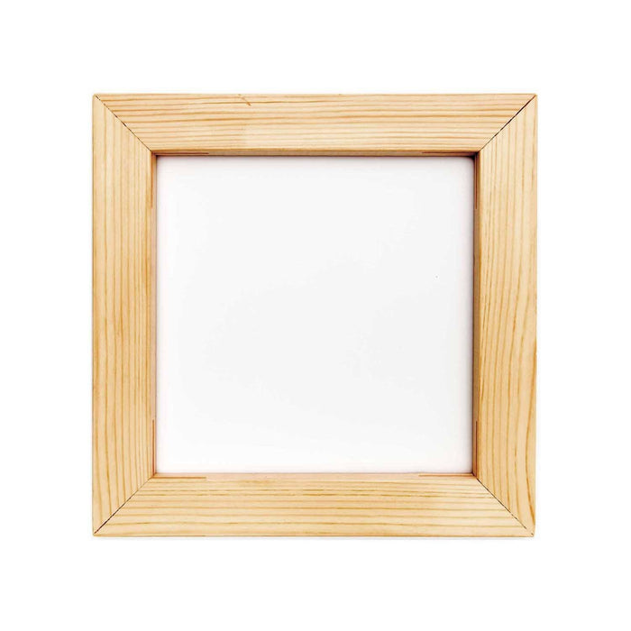 Embroidery - Square Wooden Embroidery Frame - 20cm