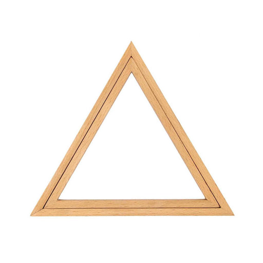 Triangle Wooden Embroidery Frame - 21 x 18cm - The Village Haberdashery