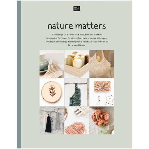 Nature Matters Sustainable Sewing & DIY Book - The Village Haberdashery