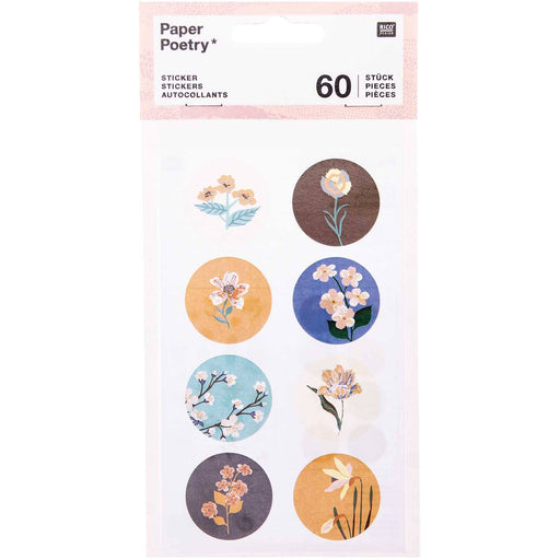 Stickers - Nature Matters - Flowers - The Village Haberdashery