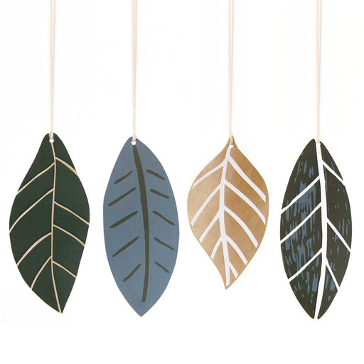 Paper Tags - Leaves - The Village Haberdashery