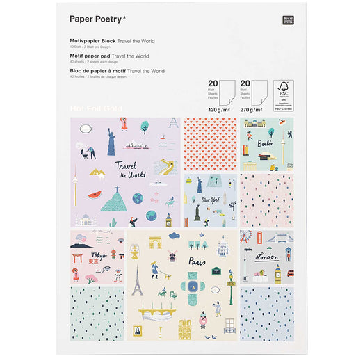 Paper Pad - Travel - The Village Haberdashery