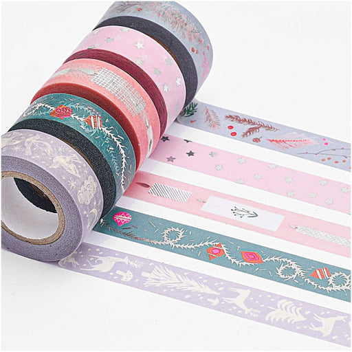 Crafts - Washi Tape Set - Nostalgic Christmas - Pastel Mix