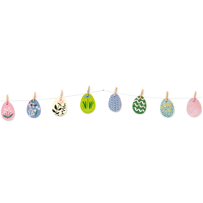 Easter Egg Garland - The Village Haberdashery