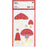 Christmas Toadstool Sticker Set - The Village Haberdashery