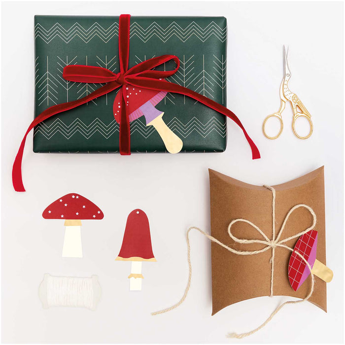 Toadstool Gift Tags - The Village Haberdashery