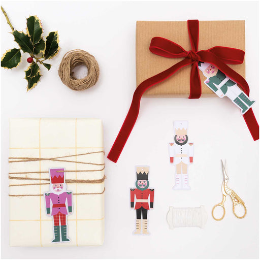 Nutcracker Gift Tags - The Village Haberdashery
