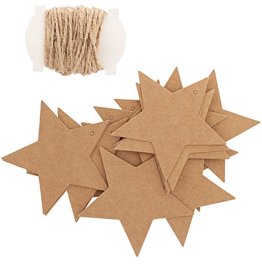Star Kraft Gift Tags - The Village Haberdashery