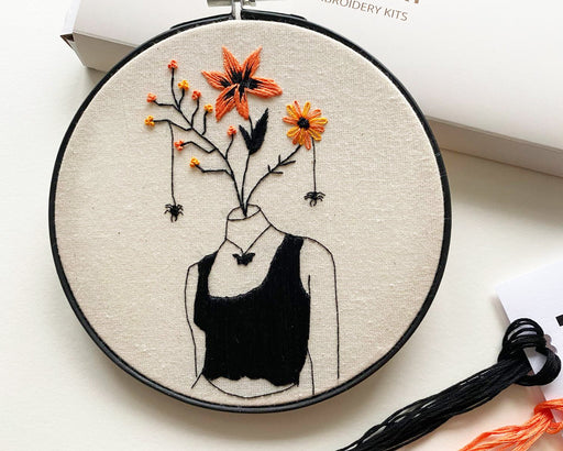 Autumn Embroidery Kit by Stitch with Skye - The Village Haberdashery