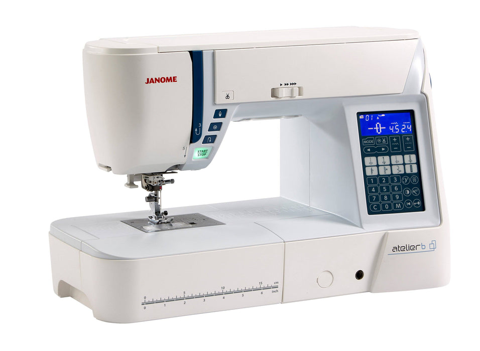 Janome Atelier 6 Sewing Machine - FEBRUARY PREORDER - The Village Haberdashery