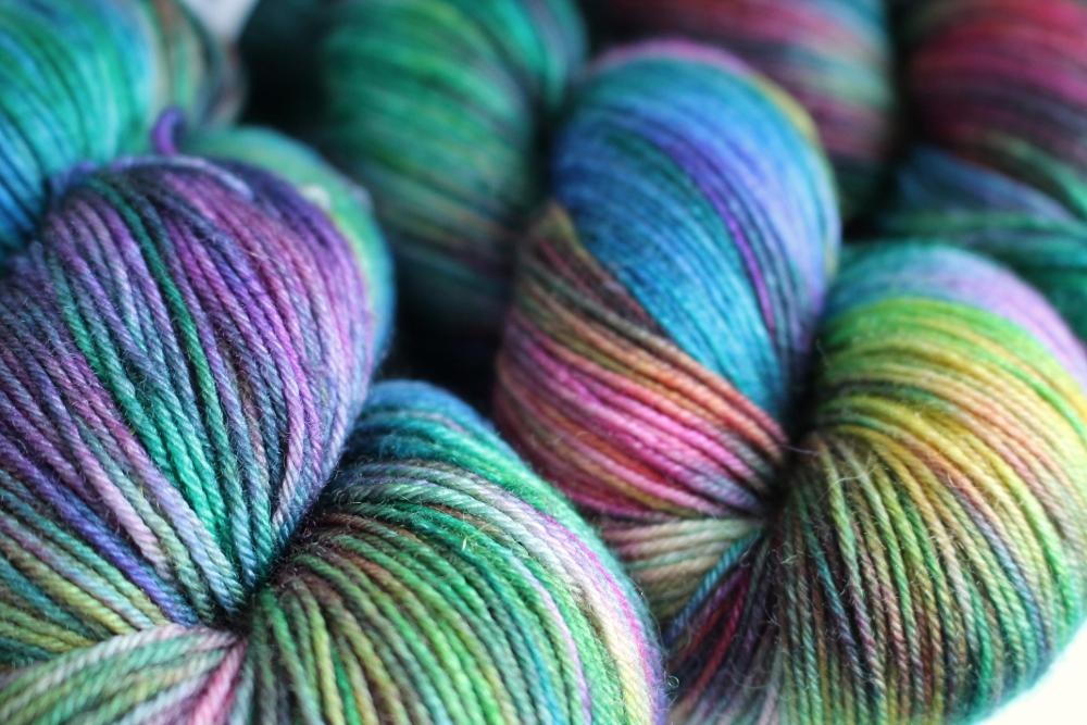RiverKnits Superwash BFL 4-Ply - Mermaid - The Village Haberdashery