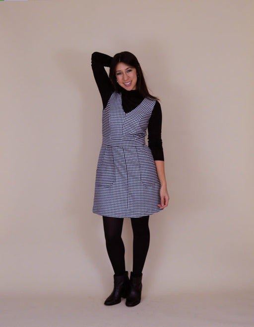 Nina Lee - The Camden Pinafore and Skirt - The Village Haberdashery