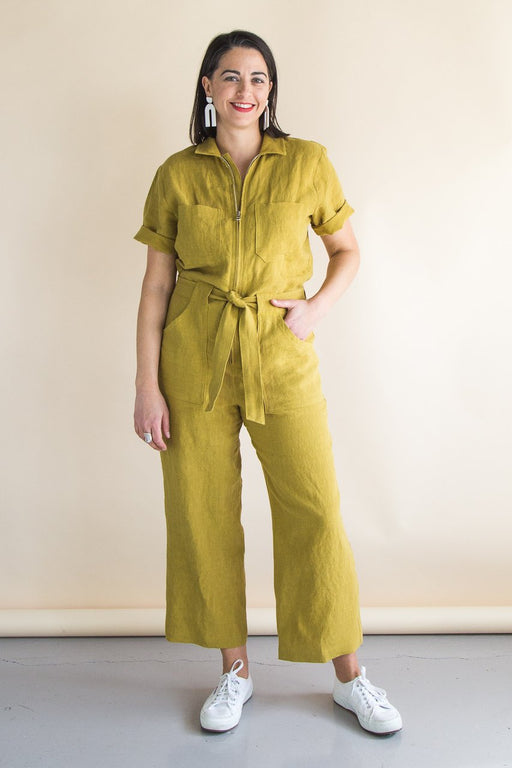 Closet Core Patterns - Blanca Flight Suit - The Village Haberdashery
