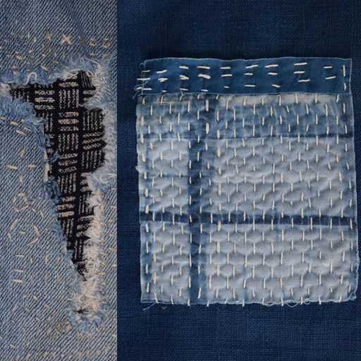 Boro Stitching (aka Visible Mending) Workshop with Rob Jones - The Village Haberdashery