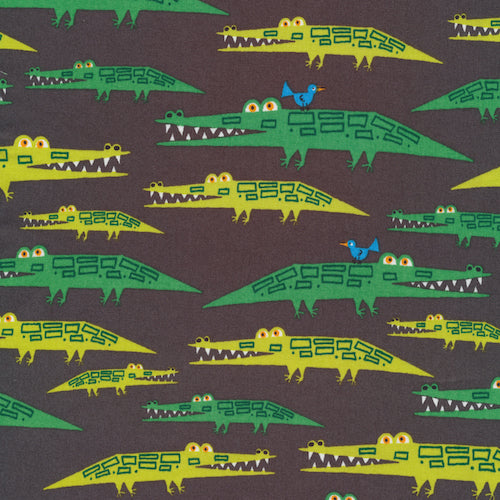 Alligators Organic Cotton from Favorites By Ed Emberley - The Village Haberdashery