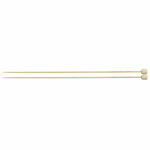Clover Bamboo Knitting Needles - 23cm x 2.25mm - The Village Haberdashery