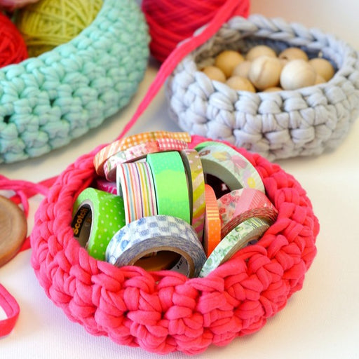 Crochet Basket Workshop with Hannah Porter - The Village Haberdashery