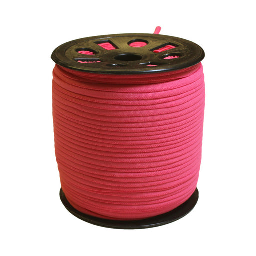 Hot Pink Banded Elastic - 4mm - The Village Haberdashery